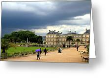 Luxembourg Gardens 2 Greeting Card