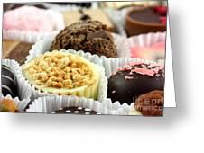 Luxury Individual Chocolates Greeting Card