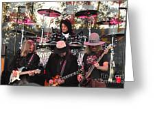 Lynyrd Skynyrd - Matejka - Rossington - Kearns - Cartellone Greeting Card