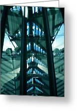 Lyon Gare France Architecture Greeting Card