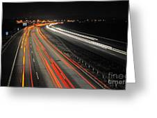 M5 At Night Greeting Card