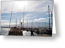 Ma'alaea Marina Greeting Card