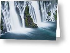 Macarthur-burney Falls 1 Greeting Card