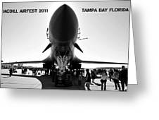 Macdill Airfest  Greeting Card