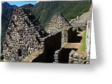 Machu Picchu Peru 8 Greeting Card