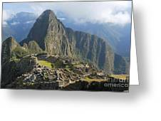 Machu Picchu Greeting Card
