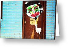 Mad Libs Graffiti Greeting Card by Katie Cupcakes