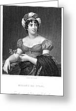 Madame De Sta�l (1766-1817) Greeting Card