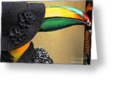 Madame Toucan Of New Orleans Greeting Card