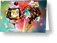 Made For Each Other Greeting Card