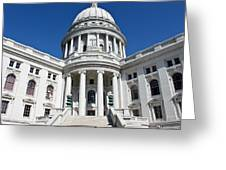 Madison Capitol Building Greeting Card