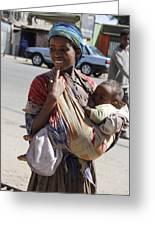 Madonna Of Addis Ababa No.2 Greeting Card