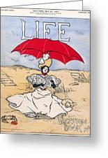 Magazine: Life, 1897 Greeting Card