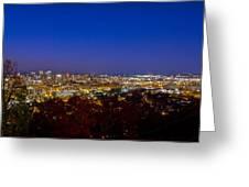 Magic City Thanksgiving Greeting Card