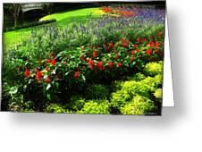 Magic Kingdom Garden Greeting Card