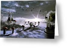 Magic Shrooms Greeting Card
