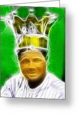 Magical Babe Ruth Greeting Card by Paul Van Scott