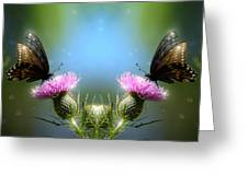 Magical Butterflies Greeting Card