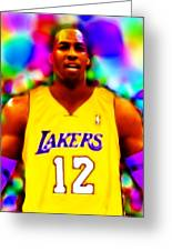Magical Dwight Howard Laker Greeting Card