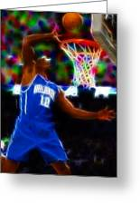 Magical Dwight Howard Greeting Card by Paul Van Scott