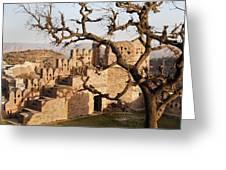Magical Fort Kumbhalgarth  Greeting Card