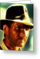 Magical Indiana Jones Greeting Card
