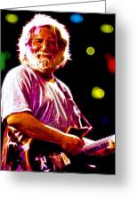 Magical Jerry Garcia Greeting Card