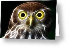Magical Owl Greeting Card
