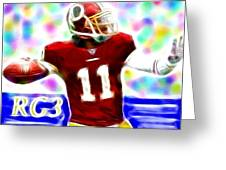 Magical Rg3 Greeting Card