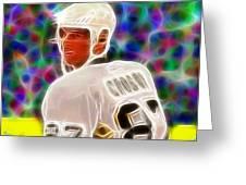 Magical Sidney Crosby Greeting Card