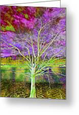 Magical Tree 4 Greeting Card