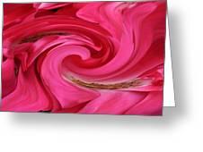 Magically Pink Greeting Card
