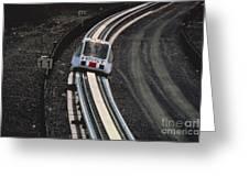 Maglev Train, Japan Greeting Card