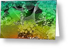 Magnification 3 Greeting Card by Angelina Vick