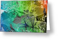 Magnification 5 Greeting Card
