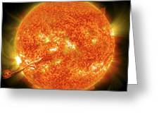 Magnificent Coronal Mass Ejection Greeting Card