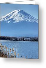 Magnificent Mt Fuji Greeting Card