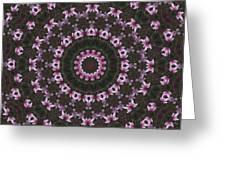 Magnolia  Diva Abstract Greeting Card