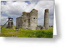 Magpie Mine - Sheldon In Derbyshire Greeting Card