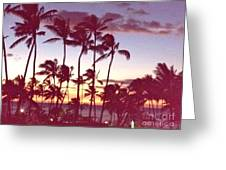 Mahalo For This Day Greeting Card