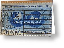 Mail Early For Christmas And Peace Greeting Card