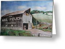 Mailpouch Greeting Card