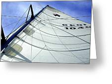 Main Sail Greeting Card