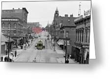 Main Street America Greeting Card