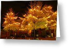 Main Street Nights 13 Greeting Card
