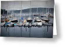 Maine Harbor Greeting Card