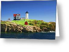 Maine Light Painting Look Greeting Card