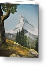 Majestic Mountain Greeting Card