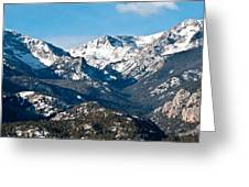 Majestic Rockies Greeting Card