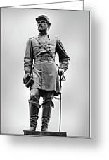 Major General John Reynolds Statue At Gettysburg Greeting Card by Randy Steele